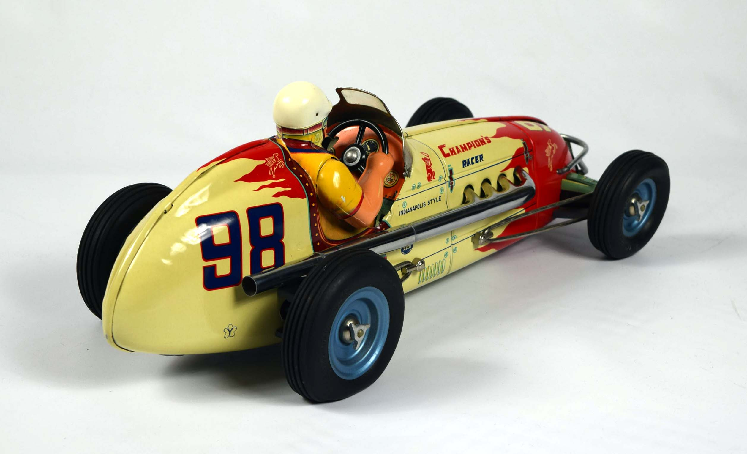 Vintage Tin Toys : Vintage space toys free appraisals pictures information