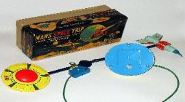 Vintage Sankei Mars Space Trip Battery Operated Space Toy Japan, space toy museum space toys appraisals send pix of your japanese space toys for sale, vintage space toys,japanese tin toys,vintage tin robots,antique toy appraisals,space ship,rocket ship,antique space toys,vintage tin toy robots,vintage japanese space cars,space guns,linemar toys,cragstan robots,ebay space toys, ebay antique tin toy robots, ebay facebook twitter battery operated toys,alps tin toys,Japan