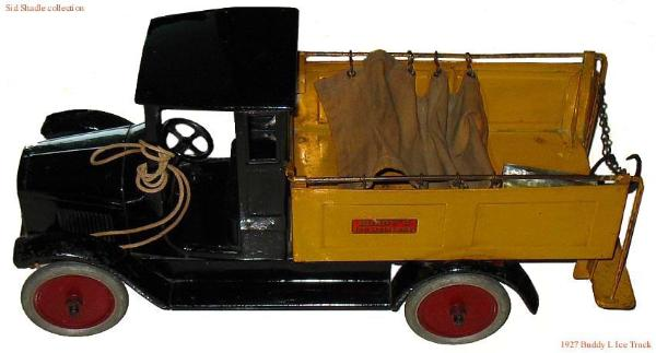 antique Buddy L Ice Truck buddy l flivver steam shovel buddy l coal truck car toy truck trains buddy l cars buddy l collections wanted buddy l vintage toy flivver 2 ton truck, free antique toy appraisals, toy appraisal headquarters,buddy l cars, toy pressed steel cars, antique toy cars