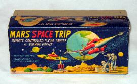 Sankei Mars Space Trip Battery Operated Vintage Space Toy For Sale, vintage space toys wanted any condition buddy l museum seeking battery operated space toys cars ships any condition yonezawa champions racer for sale rare buddy l toys friction space cars free appraisals